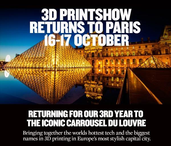 Le 16/17 octobre 2015, 3D Printshow 2015 Paris